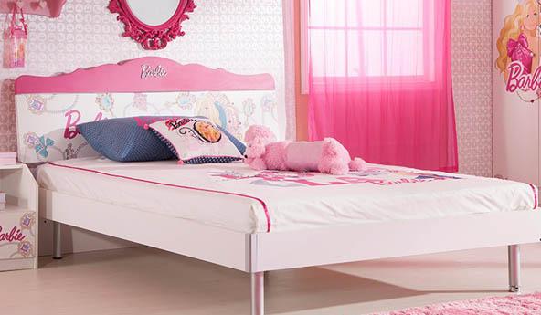 女孩公主芭比系列床满足每个公主梦