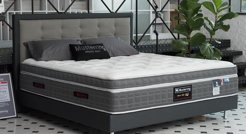德国美得丽进口床垫MR598实物效果图