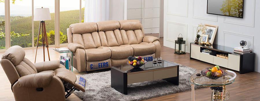芝华仕贵族真皮沙发系列9860细节展示