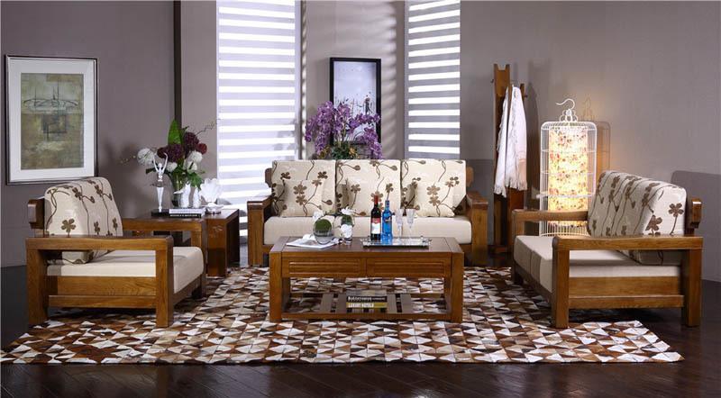 青鸟一木客厅实木家具质量真不错