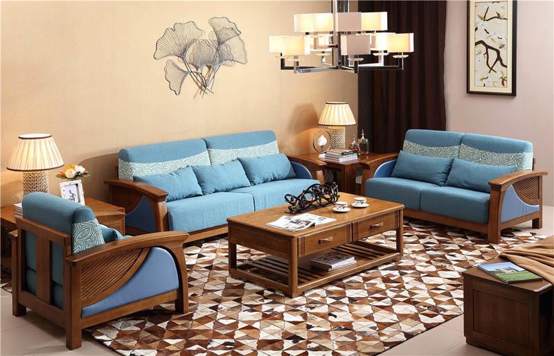 青鸟一木高瓴客厅中式家具不错