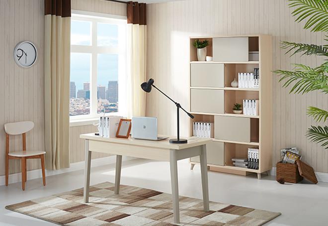 全友家居板式书房家具定制质量不错