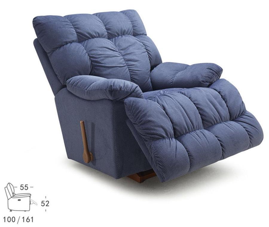 乐至宝进口单椅山姆大叔LZ.715侧面效果图: